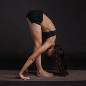 forward fold yoga for low blood pressure